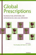 Book cover for 'Global Prescriptions'