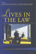 Book cover for 'Lives in the Law'