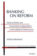 Book cover for 'Banking on Reform'
