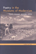Cover image for 'Poetry in the Museums of Modernism'
