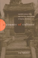 Book cover for 'A County of Culture'