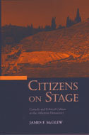 Book cover for 'Citizens on Stage'