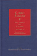 Cover image for 'Greek Syntax'