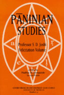 Cover image for 'Paninian Studies'
