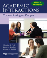 Cover image for 'Videos to Accompany Academic Interactions'