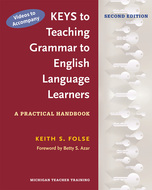 Cover image for 'Videos to Accompany Keys to Teaching Grammar to English Language Learners'