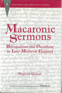 Book cover for 'Macaronic Sermons'