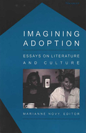 Book cover for 'Imagining Adoption'