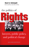 Book cover for 'The Politics of Rights'
