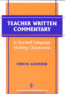 Book cover for 'Teacher Written Commentary in Second Language Writing Classrooms'