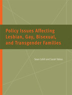 Book cover for 'Policy Issues Affecting Lesbian, Gay, Bisexual, and Transgender Families'