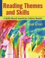 Book cover for 'Reading Themes and Skills'