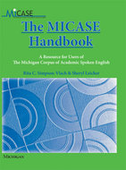 Book cover for 'The MICASE Handbook'