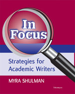 Cover image for 'In Focus: Strategies for Academic Writers'