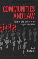 Book cover for 'Communities and Law'