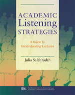 Book cover for 'Academic Listening Strategies'