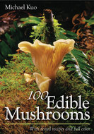 Book cover for '100 Edible Mushrooms'