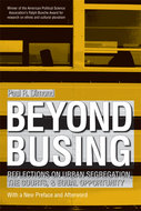 Book cover for 'Beyond Busing'