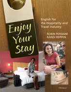 Cover image for 'Enjoy Your Stay (with Audio CD)'