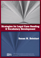 Cover image for 'Strategies for Legal Case Reading and Vocabulary Development'