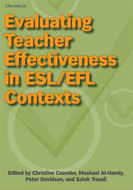 Cover image for 'Evaluating Teacher Effectiveness in ESL/EFL Contexts'