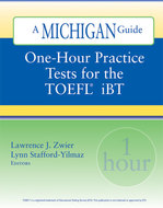 Cover image for 'One-Hour Practice Tests for the TOEFL(R)  iBT'