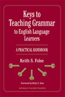 Book cover for 'Keys to Teaching Grammar to English Language Learners'