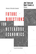 Book cover for 'Future Directions for Heterodox Economics'