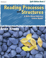 Book cover for 'Reading Processes and Structures, Split Ed., Book 2'