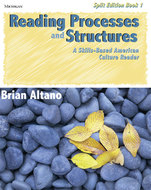 Book cover for 'Reading Processes and Structures, Split Ed. Book 1'