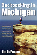 Cover image for 'Backpacking in Michigan'