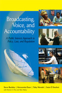 Book cover for 'Broadcasting, Voice, and Accountability'