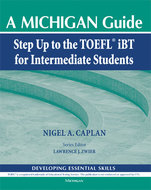Cover image for 'Step Up to the TOEFL(R) iBT for Intermediate Students (with Audio CD)'