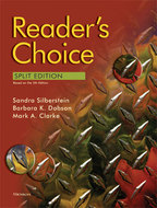 Book cover for 'Reader's Choice, Split Edition (5th Edition)'