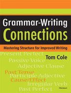 Book cover for 'Grammar-Writing Connections'