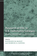 Cover image for 'Research on ESL in U.S. Community Colleges'
