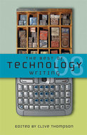 Book cover for 'The Best of Technology Writing 2008'