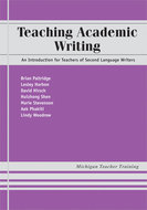 Book cover for 'Teaching Academic Writing'