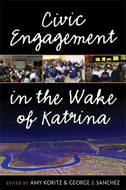 Book cover for 'Civic Engagement in the Wake of Katrina'