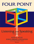 Book cover for 'Four Point Listening and Speaking 1 (with Audio CD)'