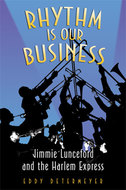 Book cover for 'Rhythm Is Our Business'