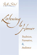Book cover for 'Listening to Homer'