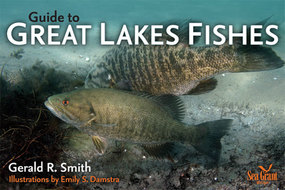 Book cover for 'Guide to Great Lakes Fishes'