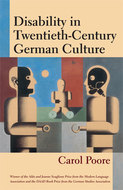 Cover image for 'Disability in Twentieth-Century German Culture'