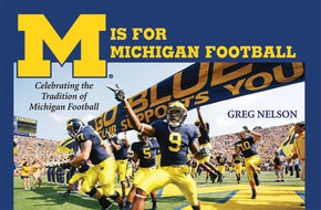 Cover image for 'M Is for Michigan Football'
