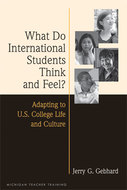 Book cover for 'What Do International Students Think and Feel?'