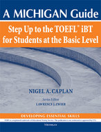 Cover image for 'Step Up to the TOEFL(R)  iBT for Students at the Basic Level (with Audio CD)'