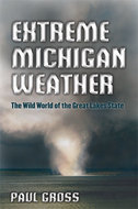 Book cover for 'Extreme Michigan Weather'