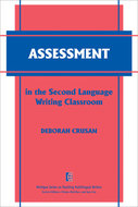 Book cover for 'Assessment in the Second Language Writing Classroom'