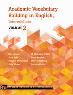 Book cover for 'Academic Vocabulary Building in English, Intermediate'